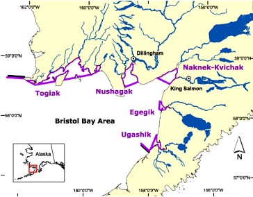 Bristol Bay Map
